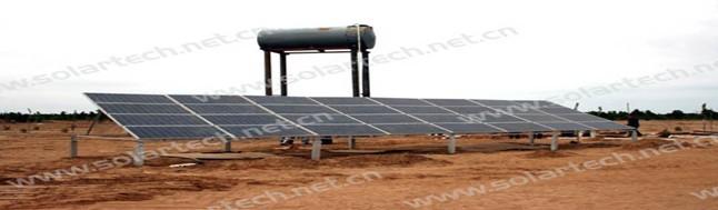 该项目采用深圳天源solartech